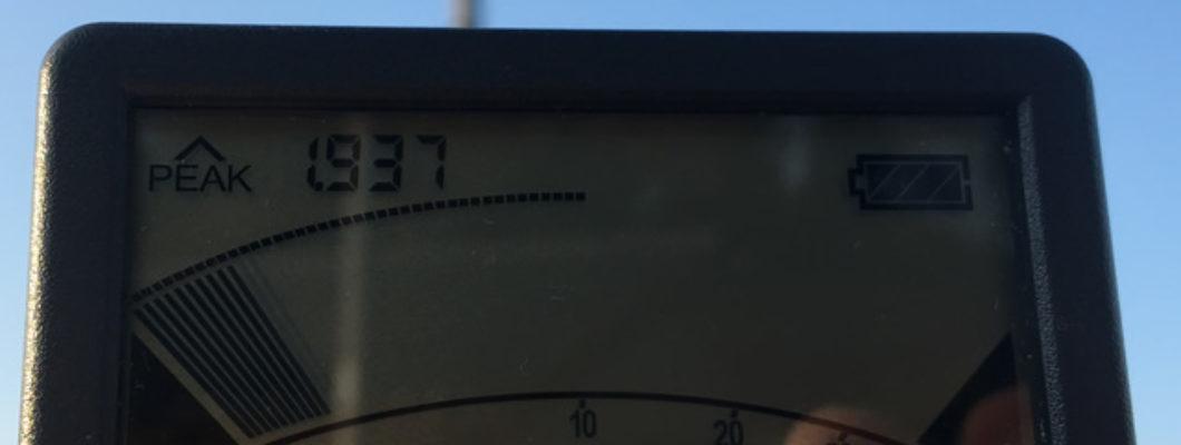 田舎だからといって電磁波ゼロではない