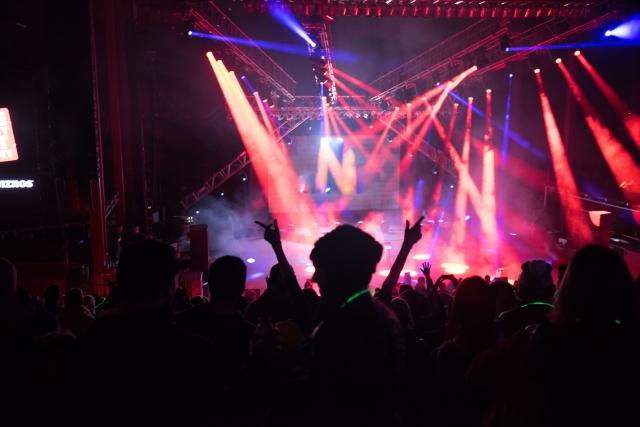 コンサート会場での電磁波がすごい